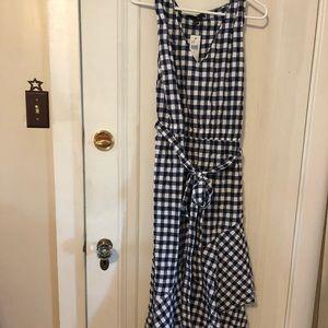 NWT Lane Bryant size -6 gingham dress